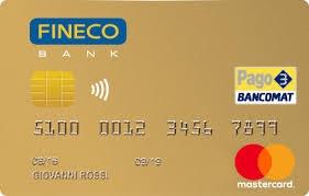 immagine fineco card gold