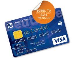 carta di credito db comfort deutsche bank