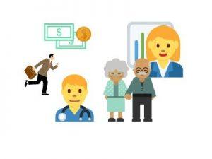 immagine di dipendenti e pensionati