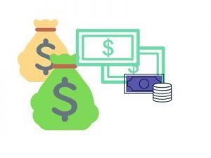disegni di denaro e banconote