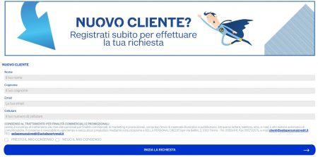 form richiesta go credit nuovi clienti