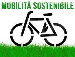 disegno di bicicletta sull'erba