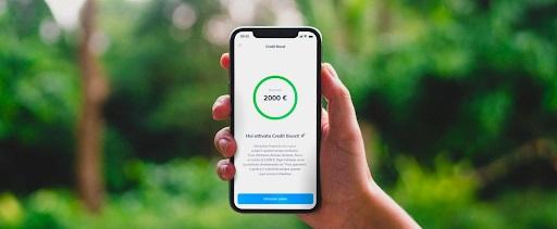 schermata credit boost