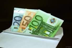 banconote da 20, 50 e 100 euro